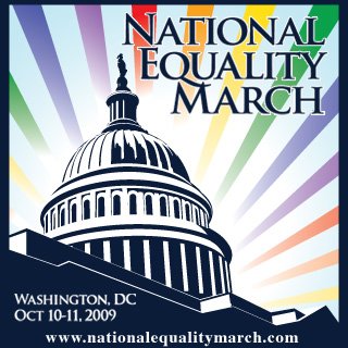 National Equality March logo