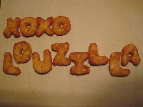 XOXO Louzilla alphabetots